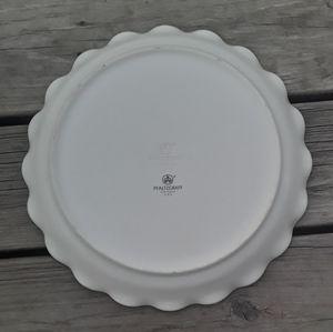 "Pfaltzgraff 12"" Large Round Fluted Serving Dish"